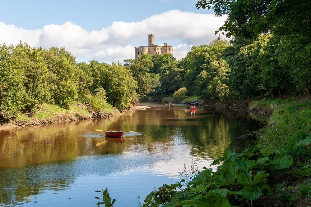 Warkworth-Castle-River